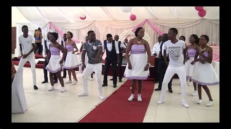Greatest Entrance Dance In Zimbabwe Zim Weddings   Zambian