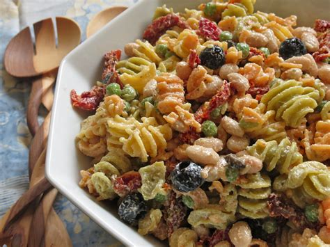 creamy pasta salad recipes creamy mediterranean pasta salad stephie cooks