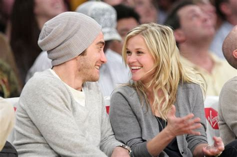 Reese Witherspoon And Jake Gyllenhaal Are Ticking Me 7 by Jake Gyllenhaal I Ve Been In Three Times