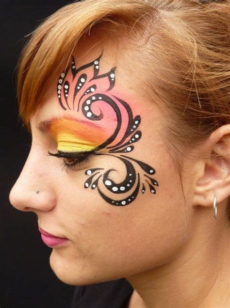 face paint tattoo designs painting clipart collection