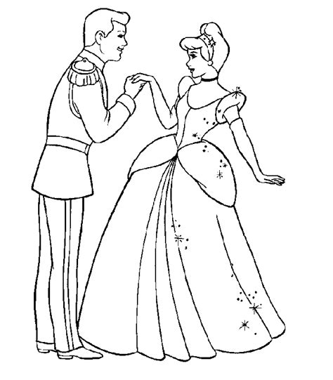 cinderella coloring pages az coloring pages