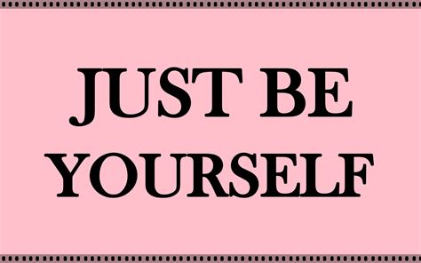 your selve just be yourself quotes hd wallpaper 06326