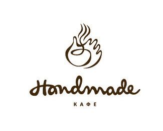 handmade cafe logo design inspiration