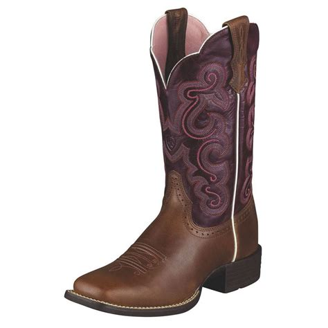 ariat womans boots ariat womens quickdraw 11 inch boots