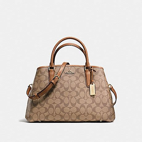 Coach Margot Small Sign Saddle 3 small margot carryall in signature f58310 imitation