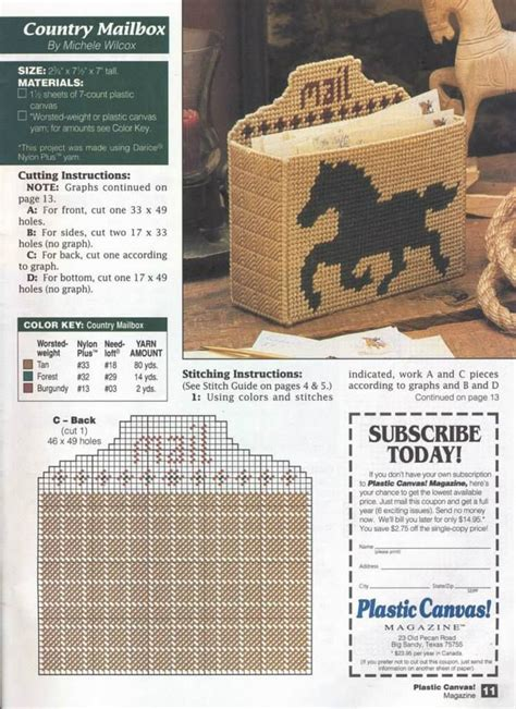 pattern for mail holder 110 best images about plastic canvas template ideas on