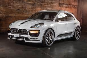 Porsche Macan And Cayenne Techart S New Air Suspension Module For Porsche Macan And