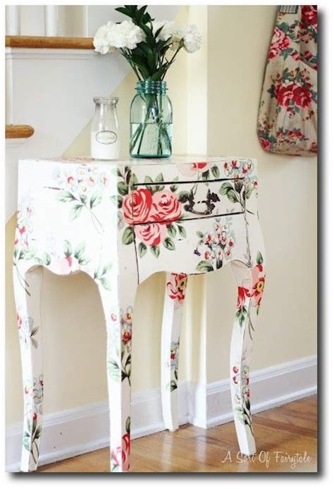 Decoupage Decorating Ideas - furniture decoupage ideas my desired home