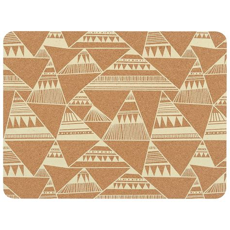 now designs cork backed placemats set of 4 save 64