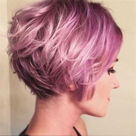 short lilac hair ideas  pinterest short