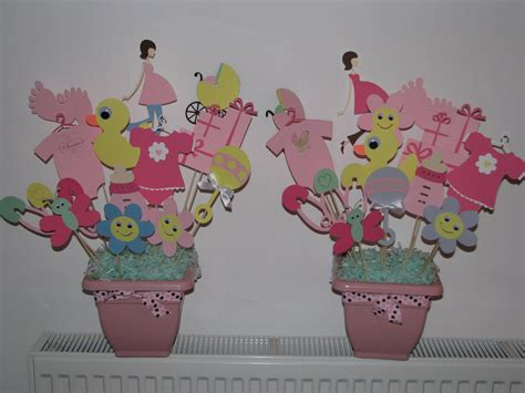 Centerpieces For Baby Shower by Oh So Baby Shower Centerpieces