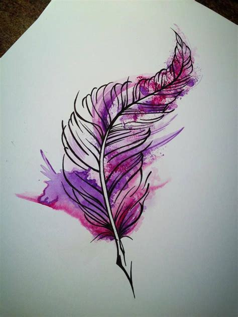 watercolor tattoos feather 17 best ideas about watercolor feather tattoos on