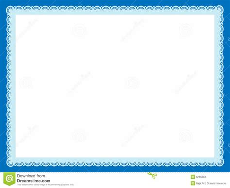 Border Rent Letter certificate border template gallery templates exle