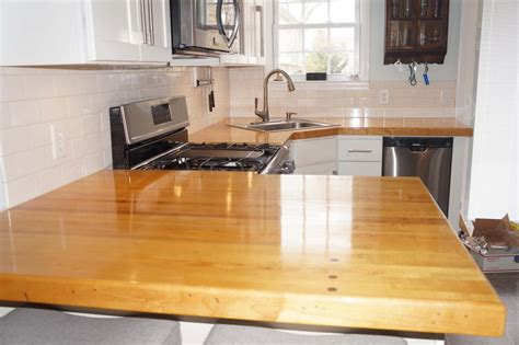 Bowling Countertop by Kitchen Countertops Project Journals Wood Talk