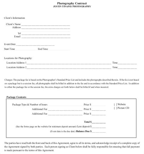 wedding videography invoice template video payment terms free
