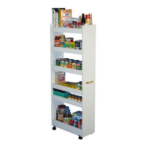 kitchen cart rolling kitchen pantry cabinet  wood