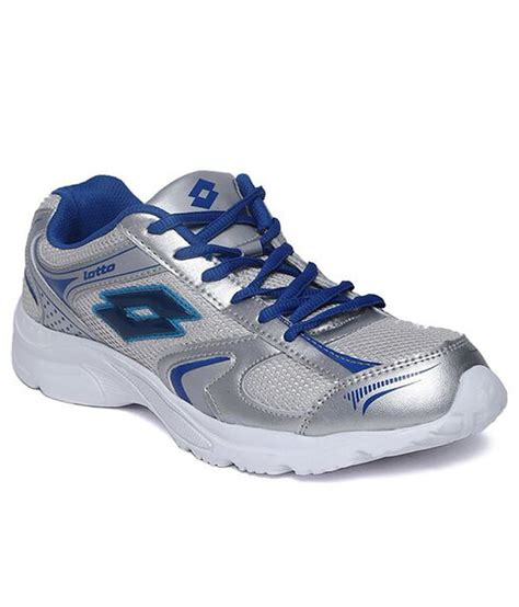 lotto sports shoes lotto grey sports shoes price in india buy lotto grey
