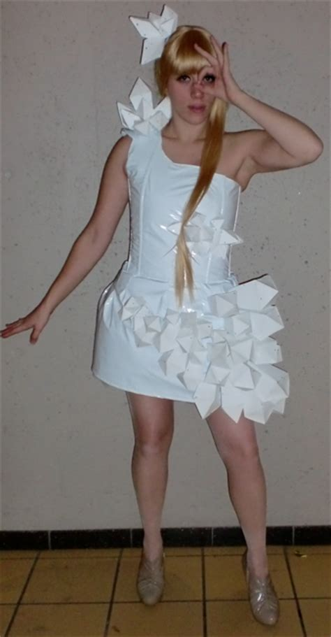 Gaga Origami Dress - gaga from gaga by killmesarah acparadise