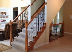 Decorative Stair Risers Stair Parts Wood Balusters Newels Handrails Treads
