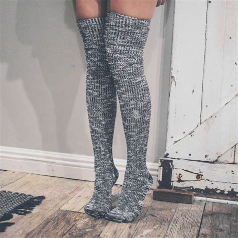 thigh high knit socks best 25 thigh high socks ideas on knee high