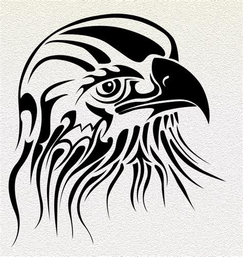 hawk tribal tattoo tribal hawk designs www imgkid the image kid