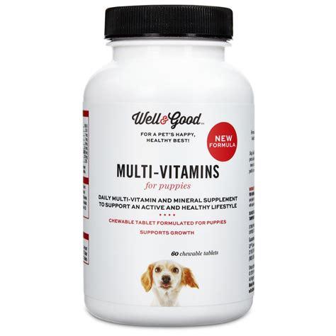 puppy vitamins well puppy stage vitamins petco