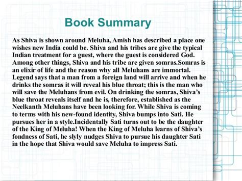 A Place Synopsis Spoiler Book Review For Immortals Of Meluha