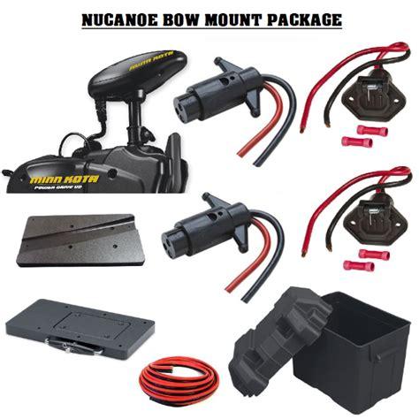 bow mount trolling motor nucanoe bow mount trolling motor package