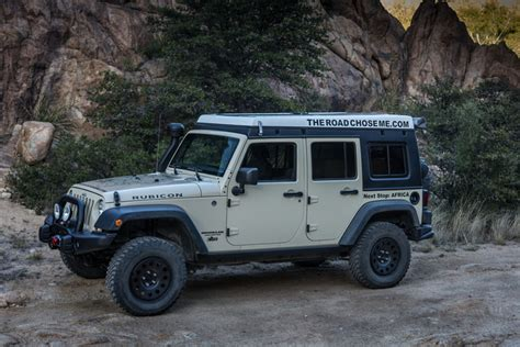 overland jeep wrangler unlimited jeep build complete the road chose me