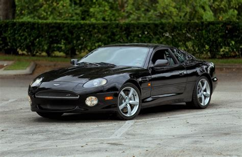 aston martin db7 gt black color timeless