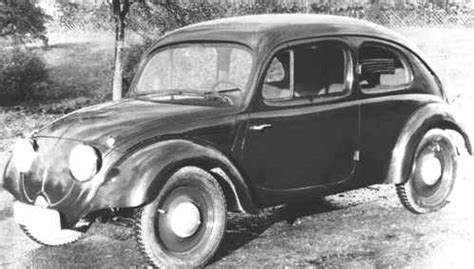 who invented the volkswagen beetle vw history 1931 1999 dastank vw thing type 181