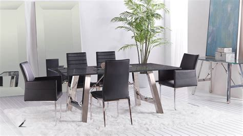 Crackle Glass Top Dining Table Crackled 84 Quot X 44 Quot Large Dining Table Top Zuri Furniture