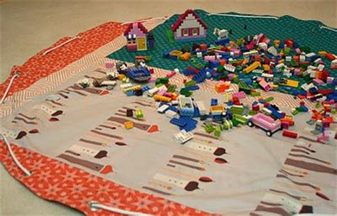 Lego Mat Tutorial by How To Make A Drawstring Lego Storage Bag That Doubles As