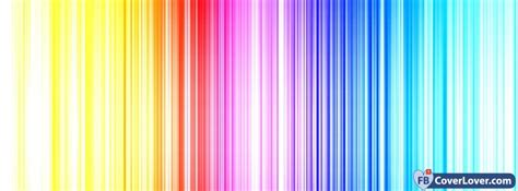 colorful lights rainbow colorful facebook cover maker