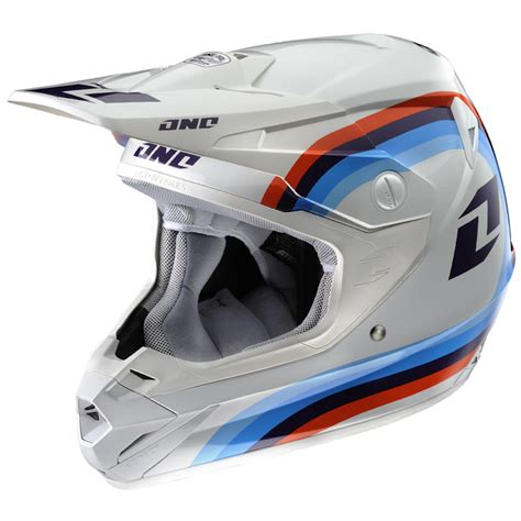 white motocross helmets one industries 2013 atom beemer dirt bike atv