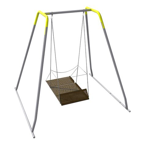 portable swing set sportsplay equipment inc wheelchair swing w frame adult