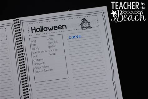 printable spelling journal spelling journals a classroom life saver teacher by