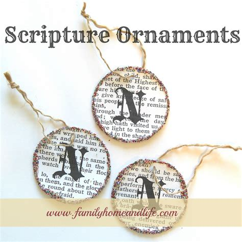 the truth about christmas decorations with bible verses last minute ideas joyful homemaking