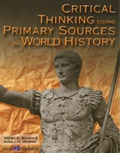 arts and cultural management critical and primary sources books critical thinking using primary sources in world history