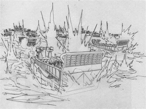 D Day Sketches by Staz Johnson Newsblog D Day June 6th 1944 Mega Post