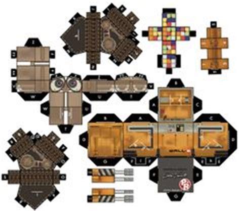 Wall E Papercraft - wall e on papercraft robots and crafts