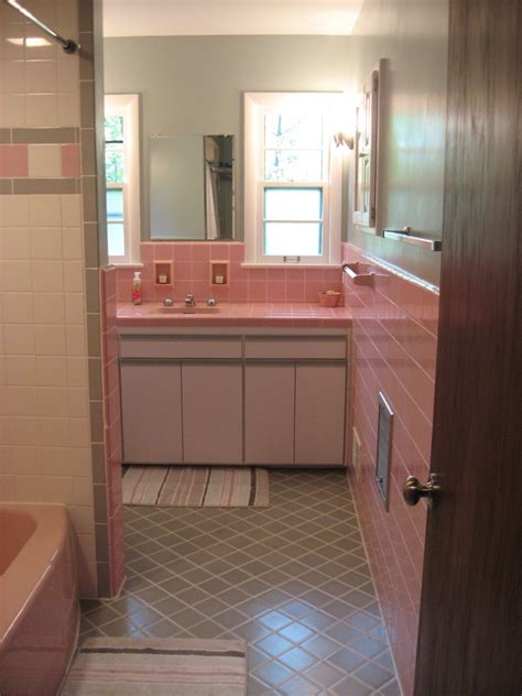 50 s bathroom decor 40 vintage pink bathroom tile ideas and pictures