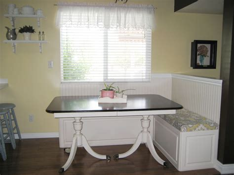 breakfast nook plans diy breakfast nook with storage diy woodworking projects