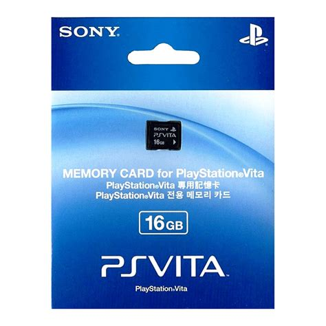 Memory Ps Vita 16gb memory card for playstation vita the gamesmen