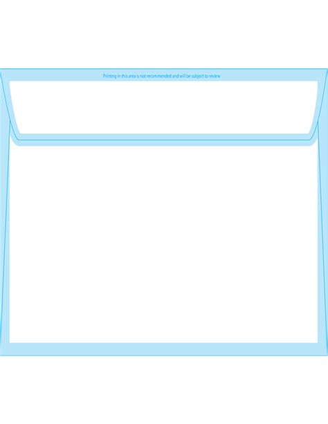 window envelope template window envelopes 6 x 9 back free