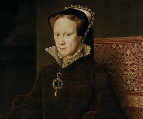 biography of queen mary mary i of england biography childhood life achievements