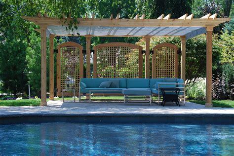 pergola shade canopy pergola sliding shade modern home design and decor