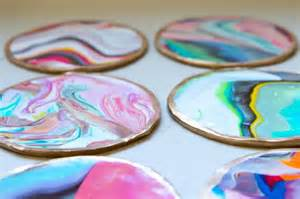 coasters diy picture of colorful and golssy diy marble coasters 1