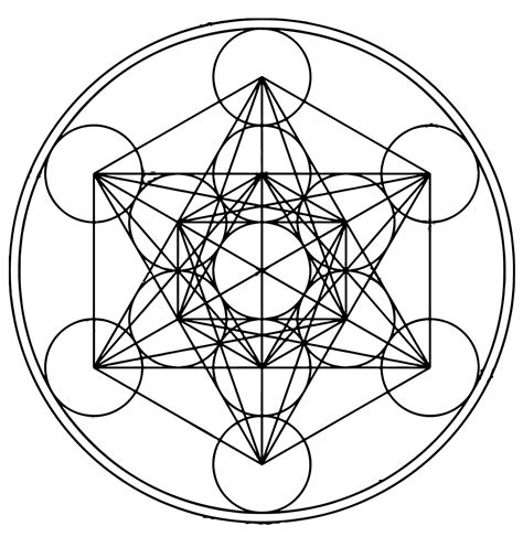 the meaning of sacred geometry part 3 the womb of sacred metatron s cube symbol its origins and meaning