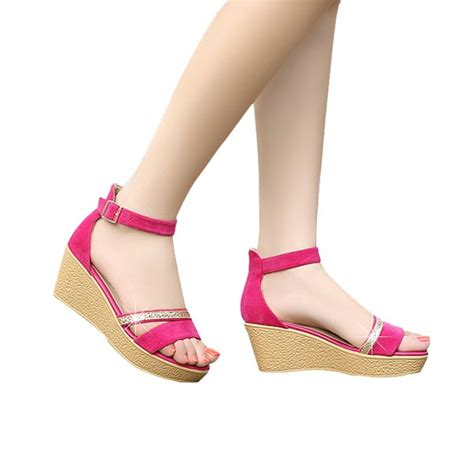 fashioned high heels classic fashion high heels wedges ankle pink